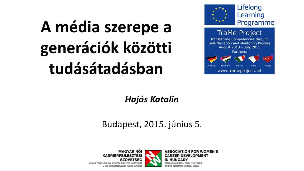 Hajós Katalin Budapest, 2015. június 5.