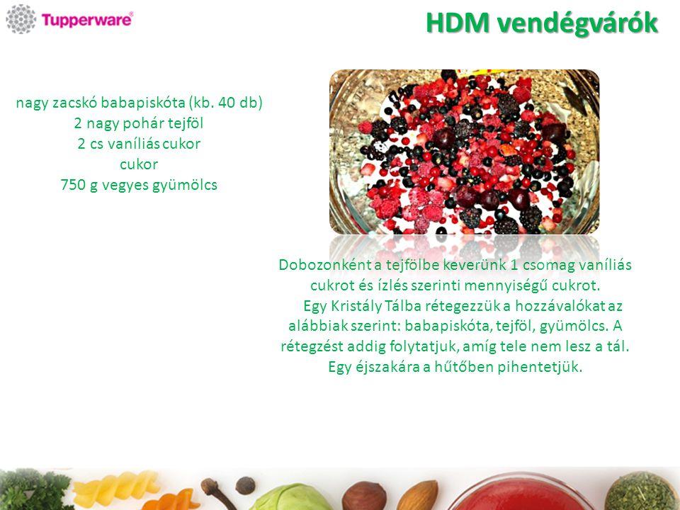 HDM vendégvárók nagy zacskó babapiskóta (kb. 40 db)