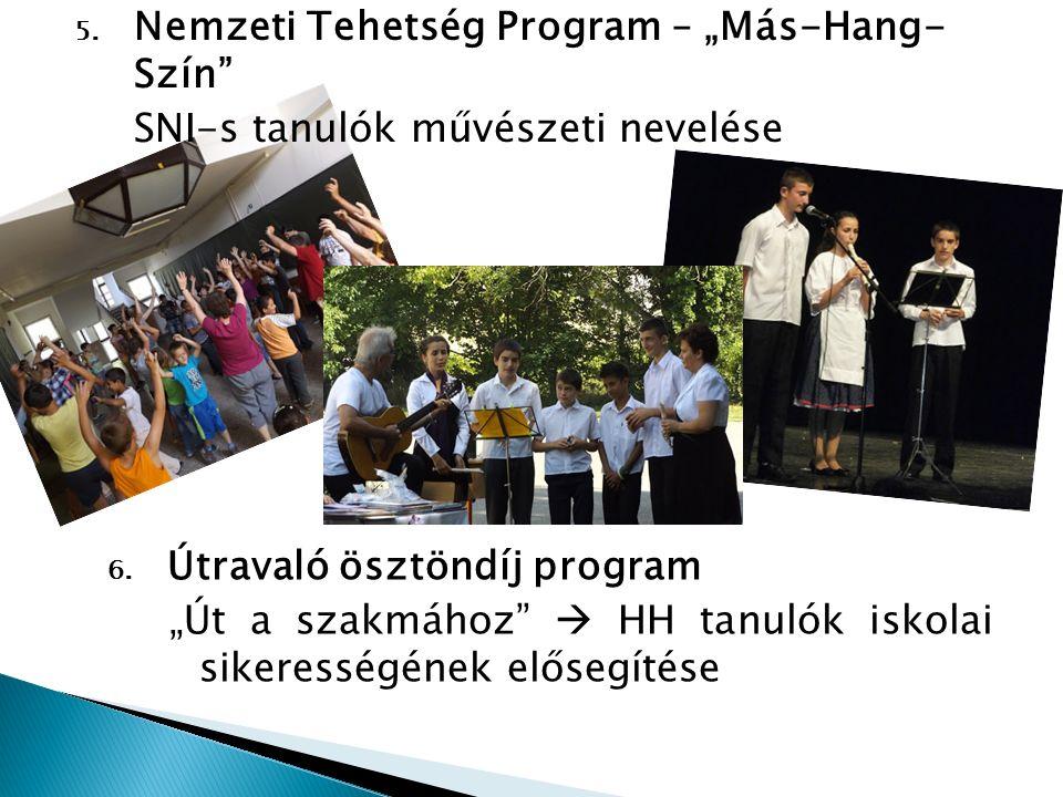 """Nemzeti Tehetség Program – """"Más-Hang- Szín"""