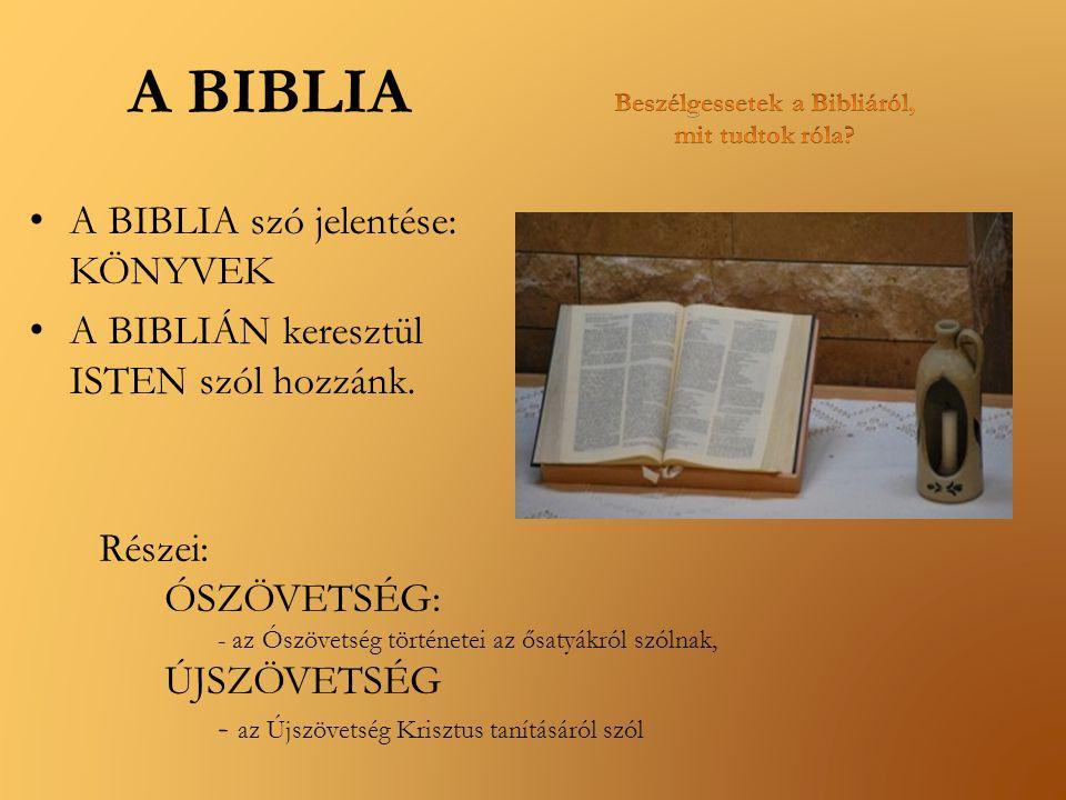 Beszélgessetek a Bibliáról, mit tudtok róla