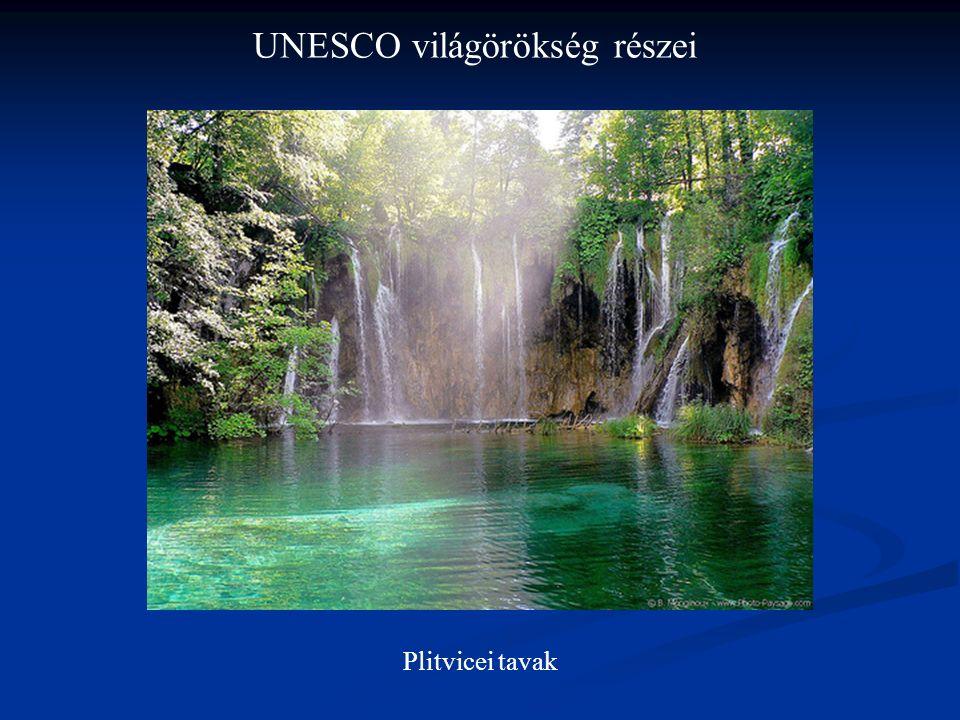 UNESCO világörökség részei