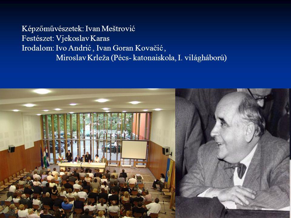 Képzőművészetek: Ivan Meštrović