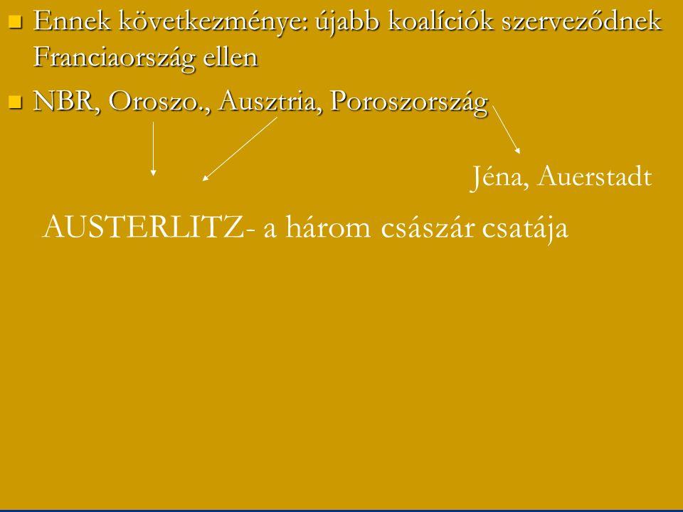 AUSTERLITZ- a három császár csatája