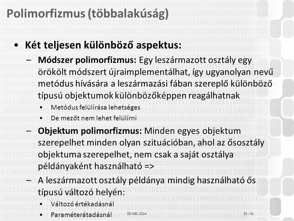Polimorfizmus (többalakúság)