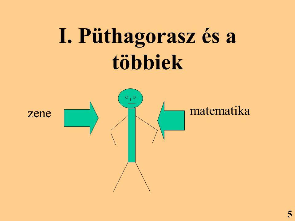 I. Püthagorasz és a többiek