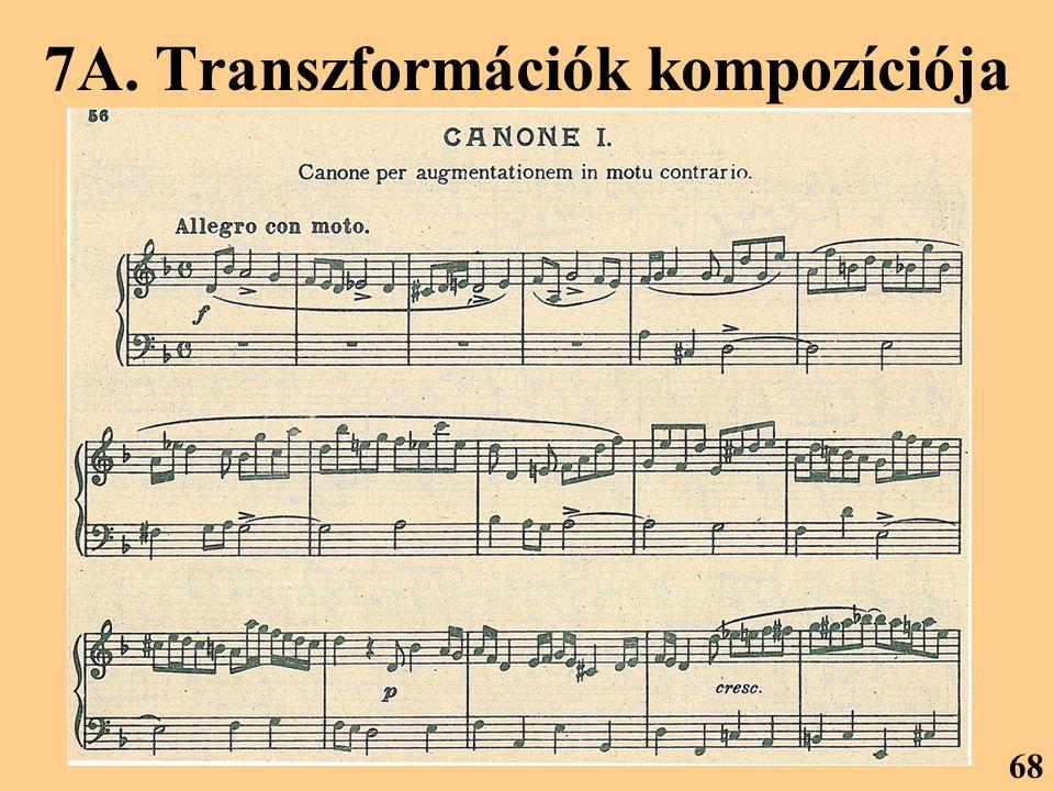 7A. Transzformációk kompozíciója