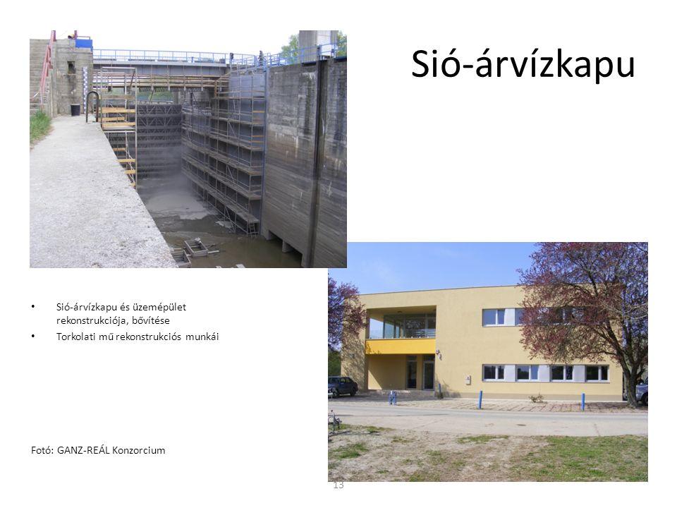 Sió-árvízkapu Sió-árvízkapu és üzemépület rekonstrukciója, bővítése