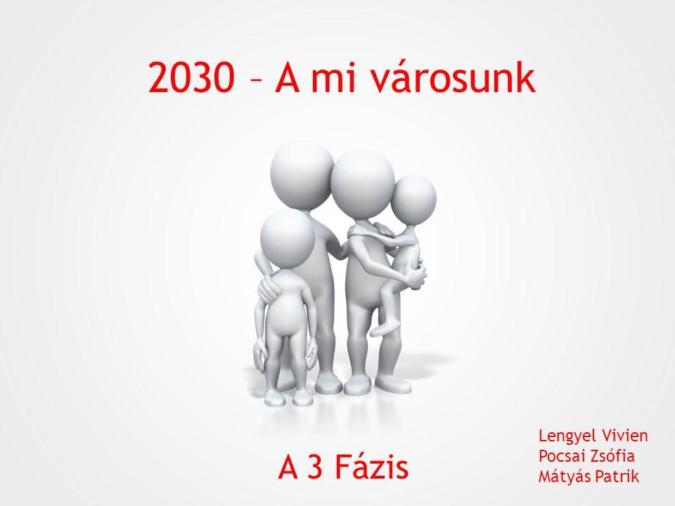 2030 – A mi városunk A 3 Fázis Lengyel Vivien Pocsai Zsófia