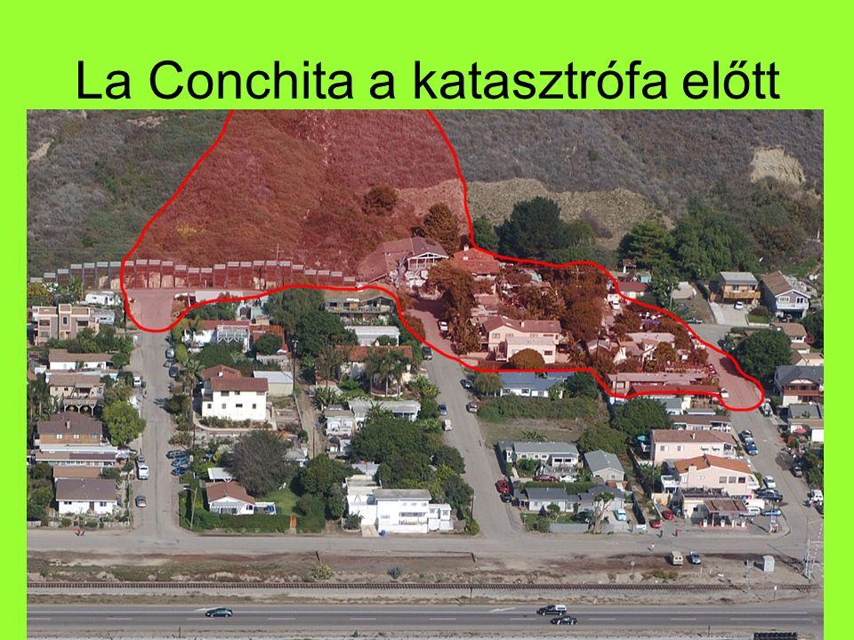 La Conchita a katasztrófa előtt