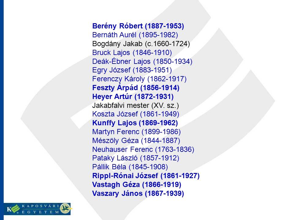 Berény Róbert (1887-1953) Bernáth Aurél (1895-1982) Bogdány Jakab (c