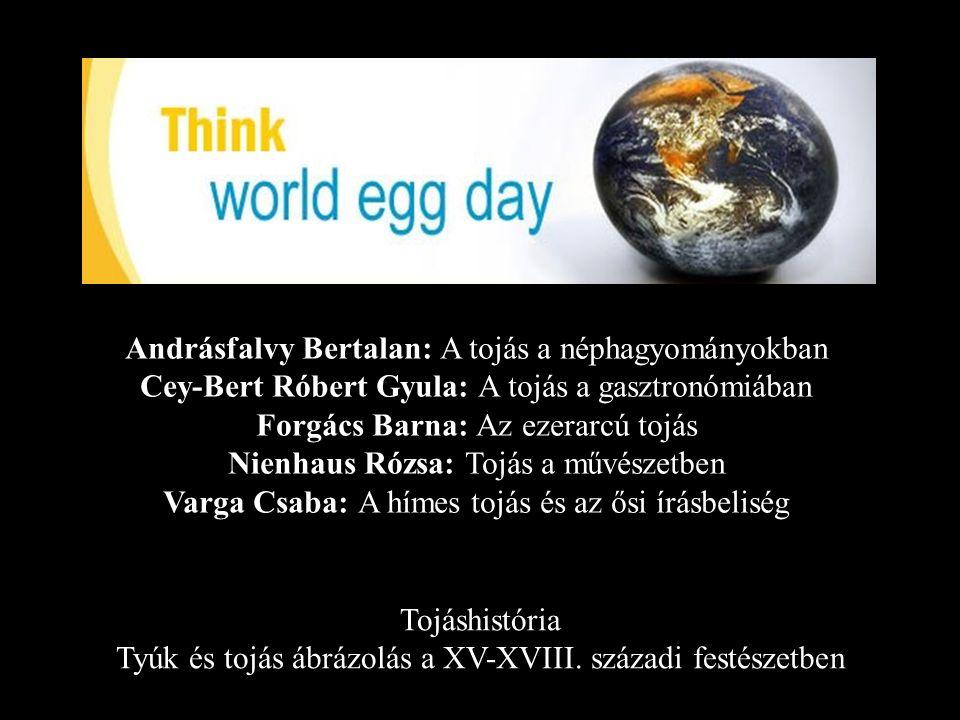 Andrásfalvy Bertalan: A tojás a néphagyományokban