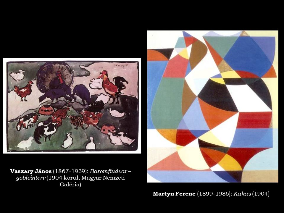 Martyn Ferenc (1899-1986): Kakas (1904)