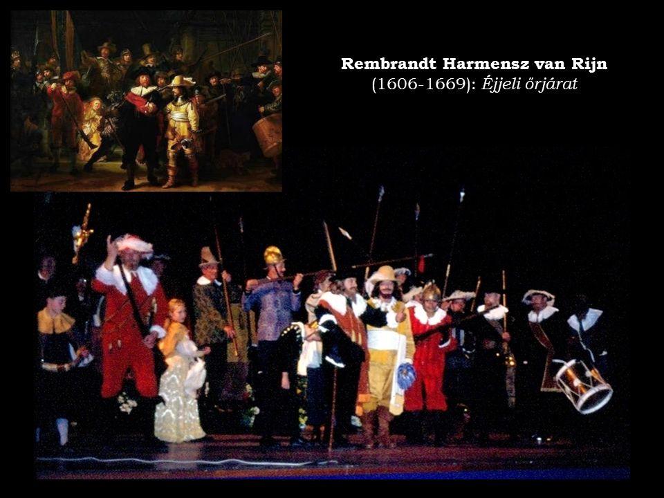 Rembrandt Harmensz van Rijn (1606-1669): Éjjeli őrjárat
