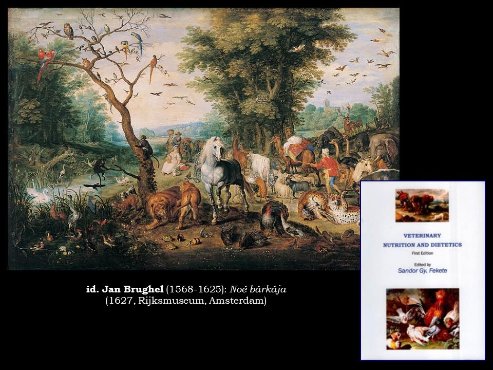 id. Jan Brughel (1568-1625): Noé bárkája