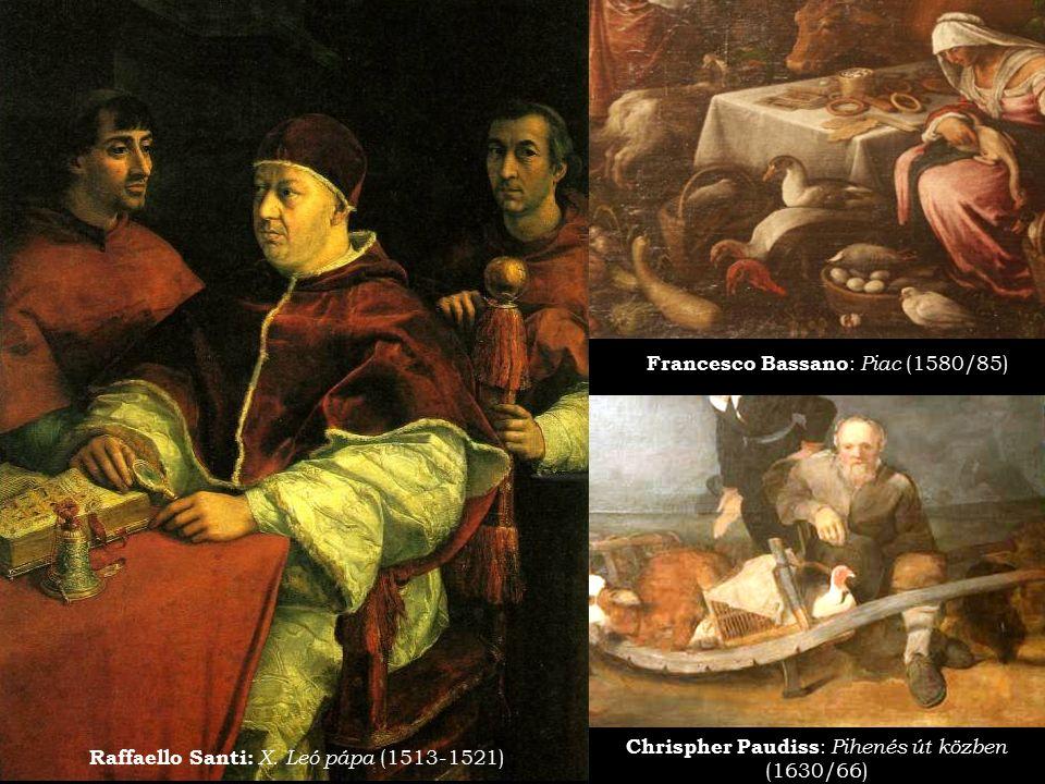 Francesco Bassano: Piac (1580/85)