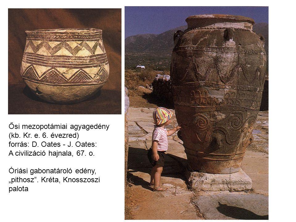 Ősi mezopotámiai agyagedény