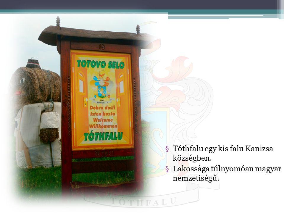 Tóthfalu egy kis falu Kanizsa községben.