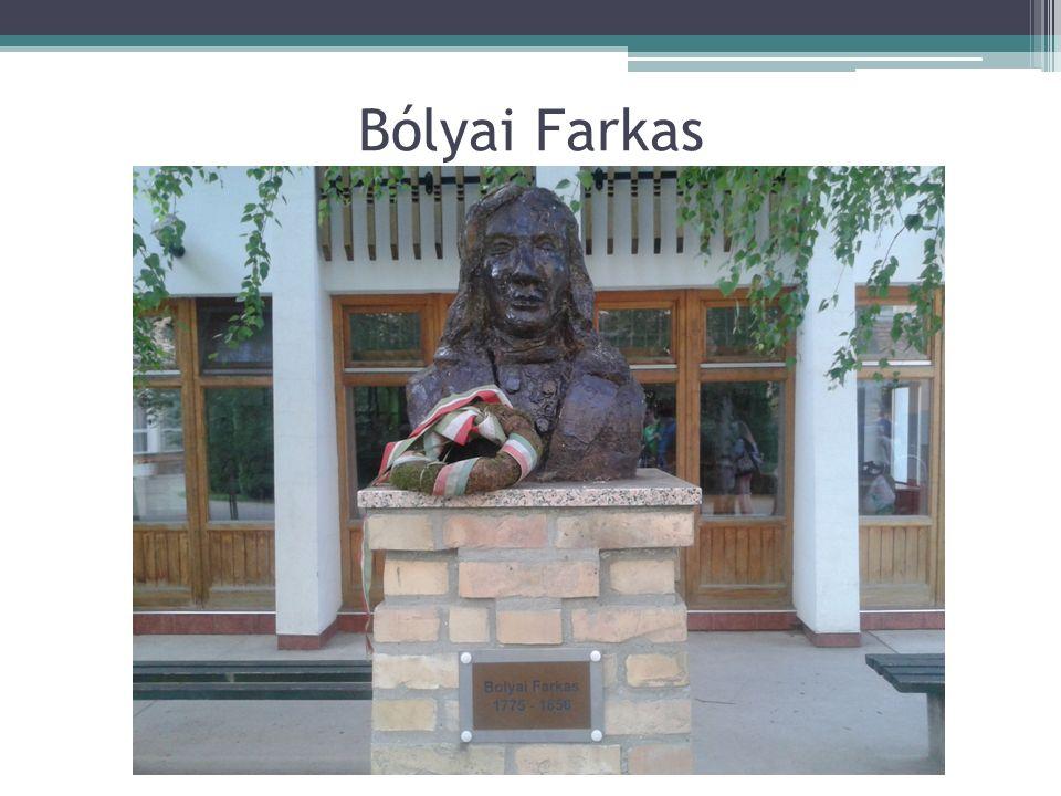 Bólyai Farkas