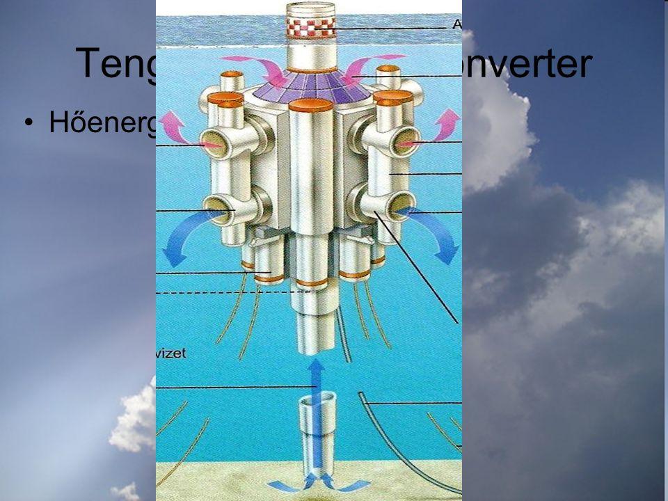 Tengeri hőenergia-konverter