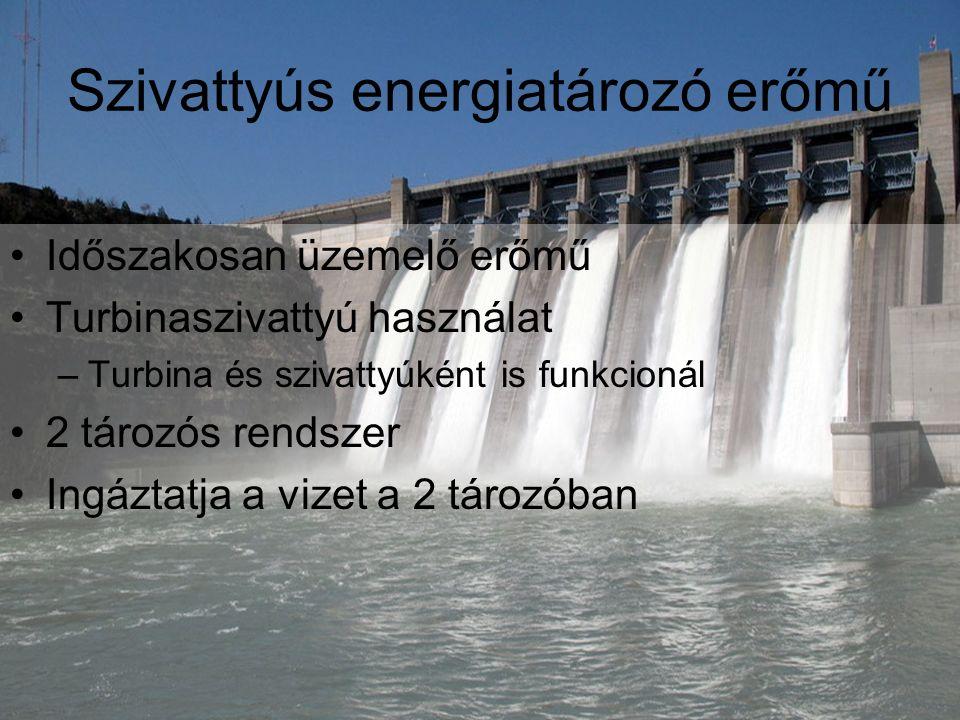 Szivattyús energiatározó erőmű