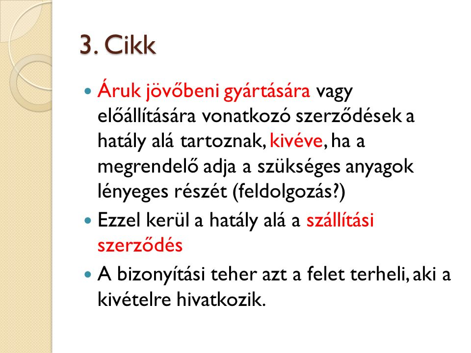 3. Cikk