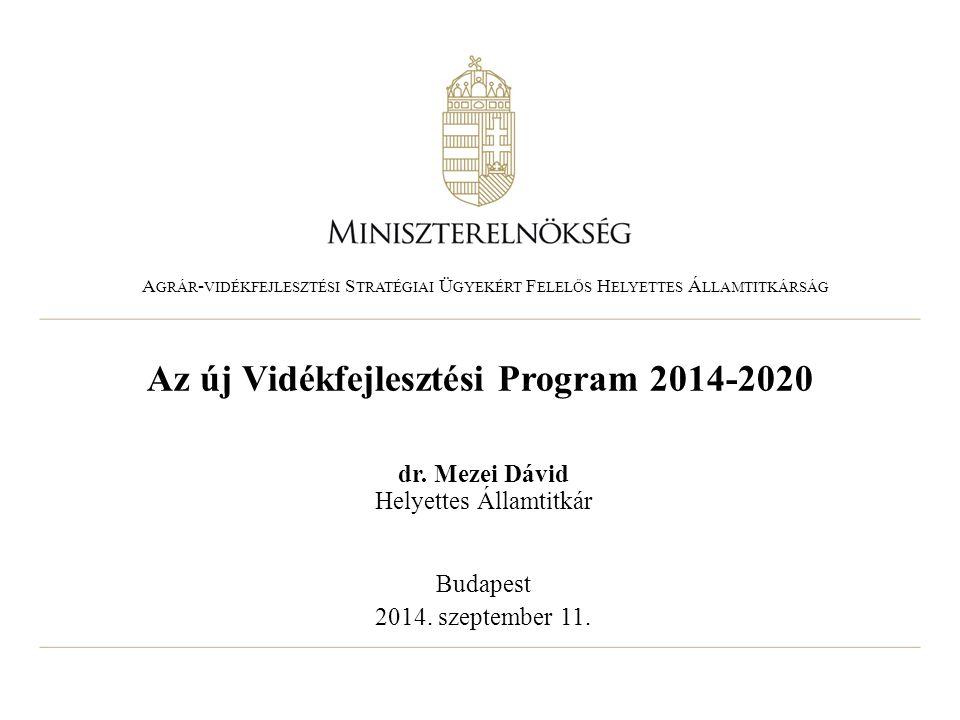 Az új Vidékfejlesztési Program 2014-2020