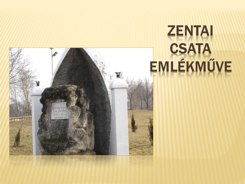 Zentai csata emlékműve