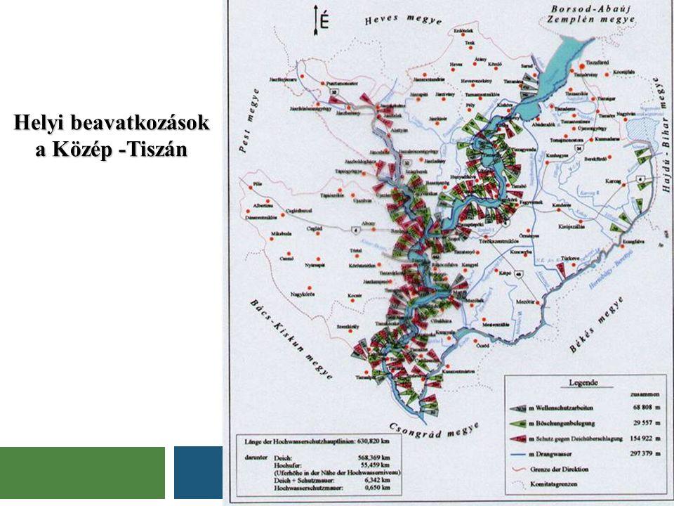 Helyi beavatkozások a Közép -Tiszán