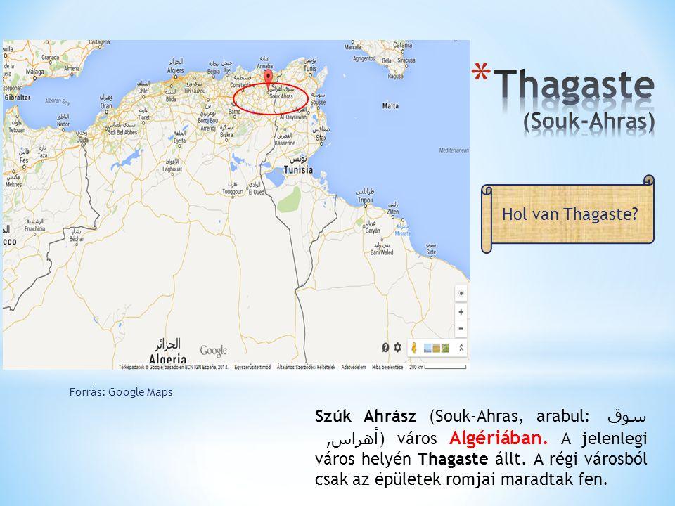 Thagaste (Souk-Ahras)