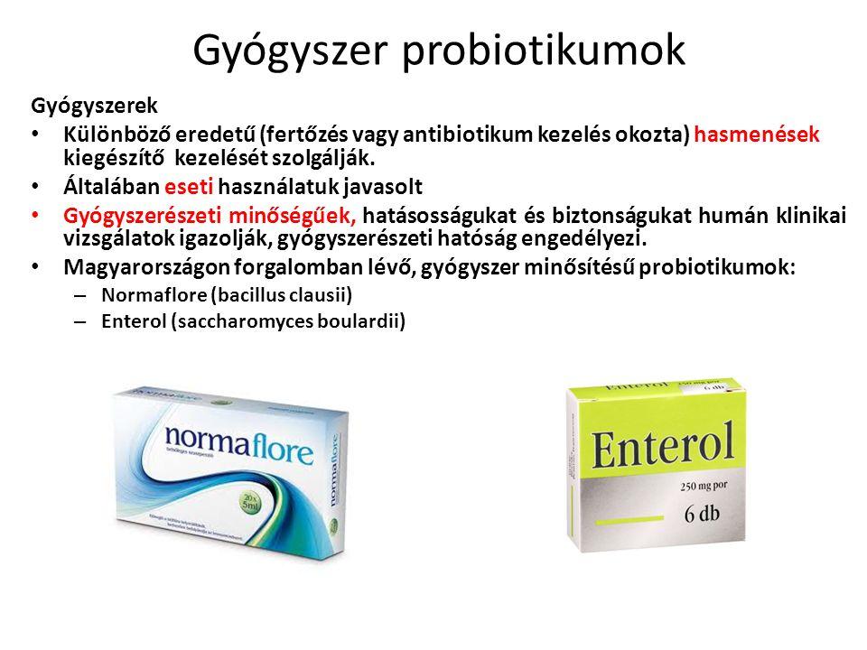 Gyógyszer probiotikumok