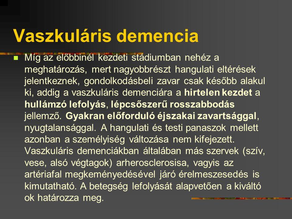 Vaszkuláris demencia