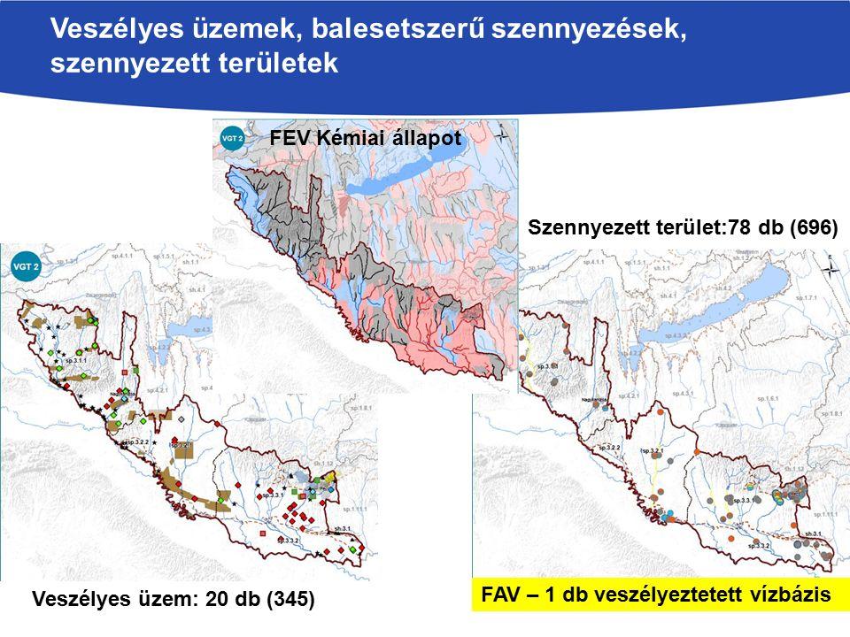 Veszélyes üzemek, balesetszerű szennyezések, szennyezett területek