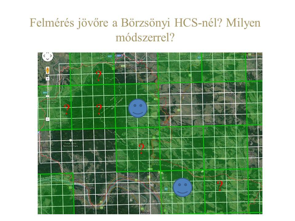 Felmérés jövőre a Börzsönyi HCS-nél Milyen módszerrel