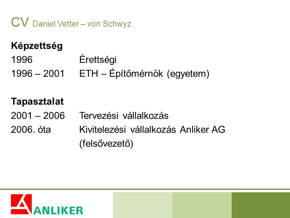 CV Daniel Vetter – von Schwyz