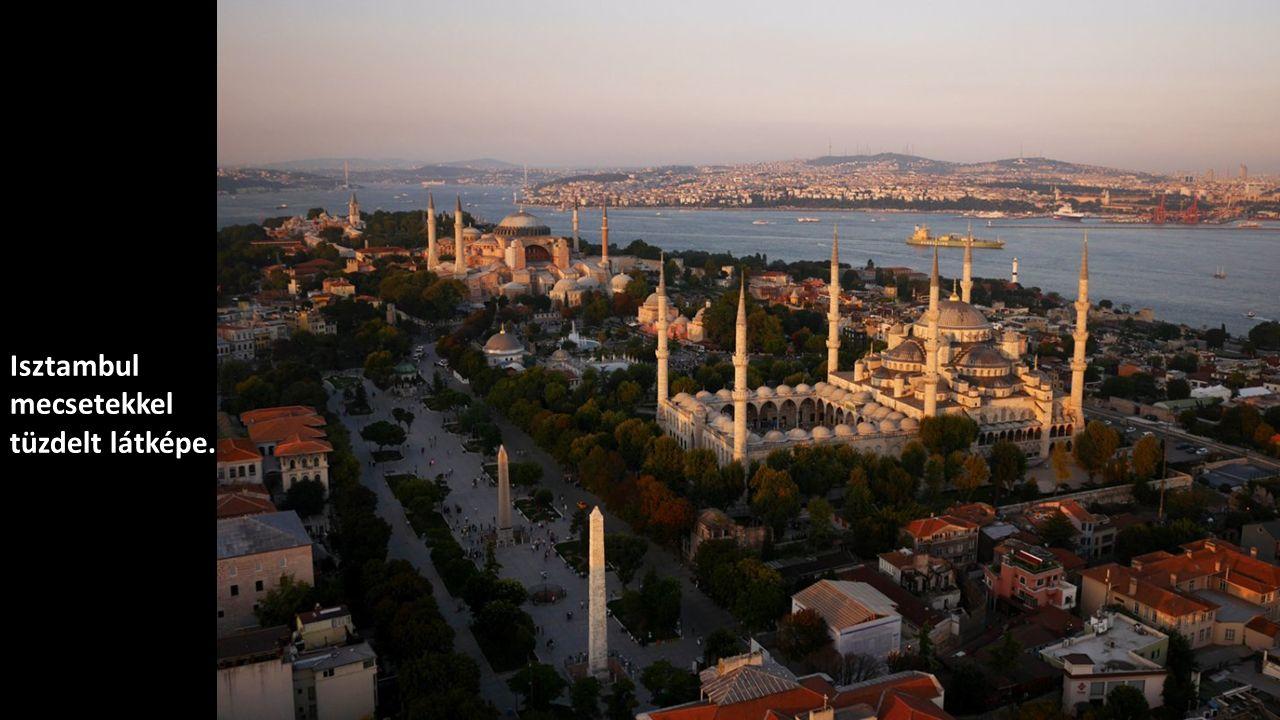 Isztambul mecsetekkel