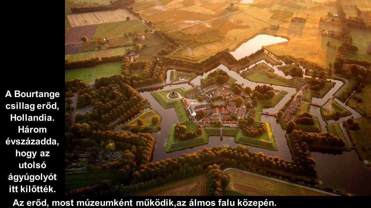 Az erőd, most múzeumként működik,az álmos falu közepén.