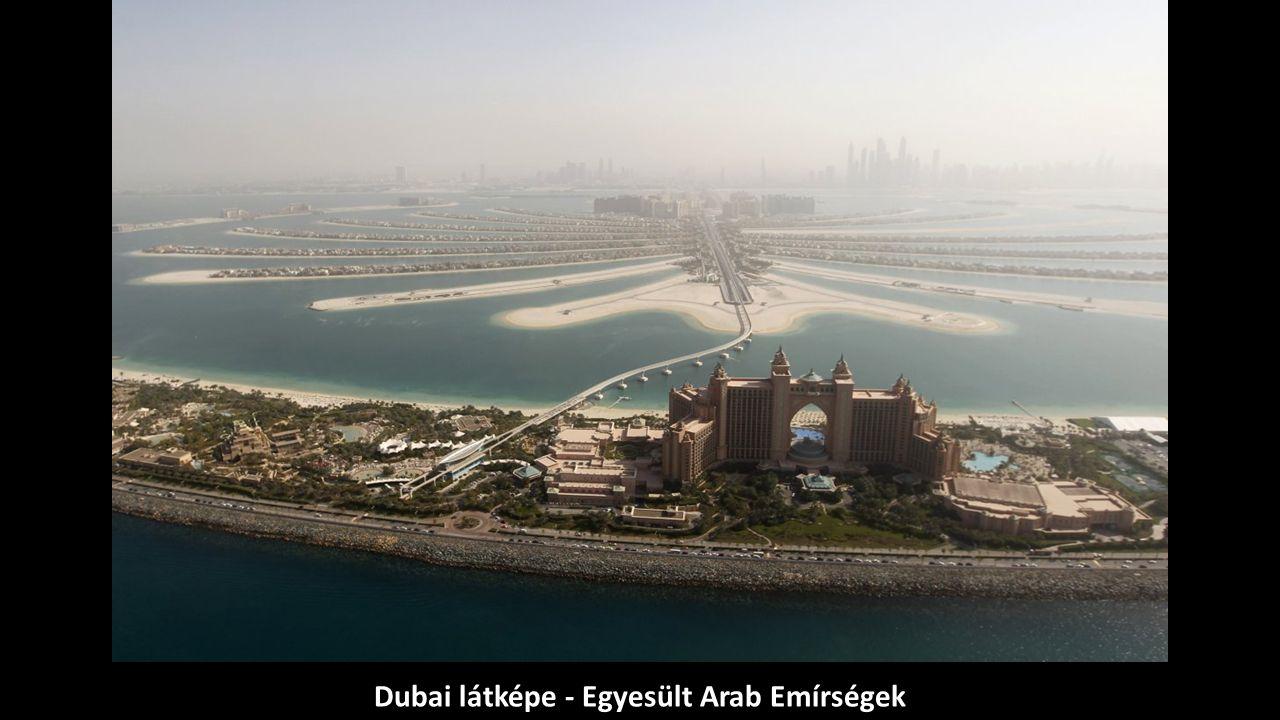 Dubai látképe - Egyesült Arab Emírségek