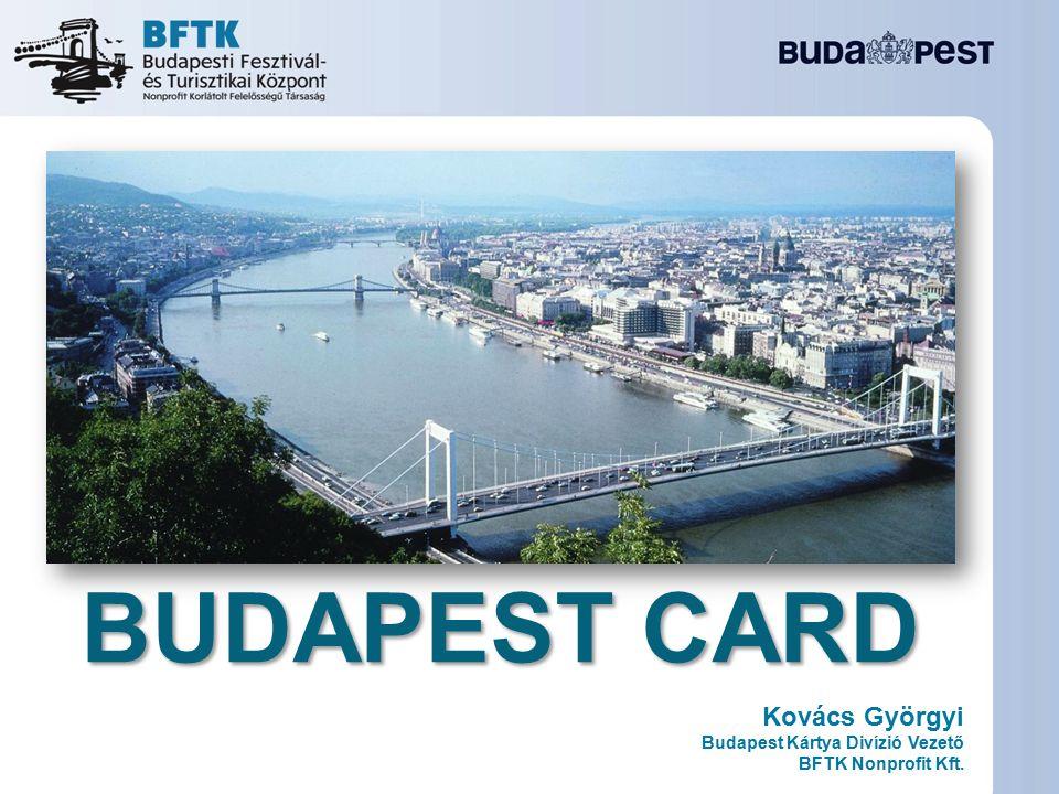 Kovács Györgyi Budapest Kártya Divízió Vezető BFTK Nonprofit Kft.