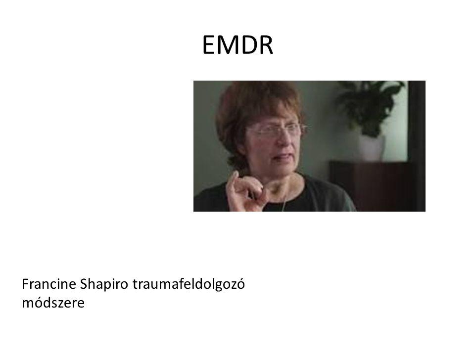 EMDR Francine Shapiro traumafeldolgozó módszere