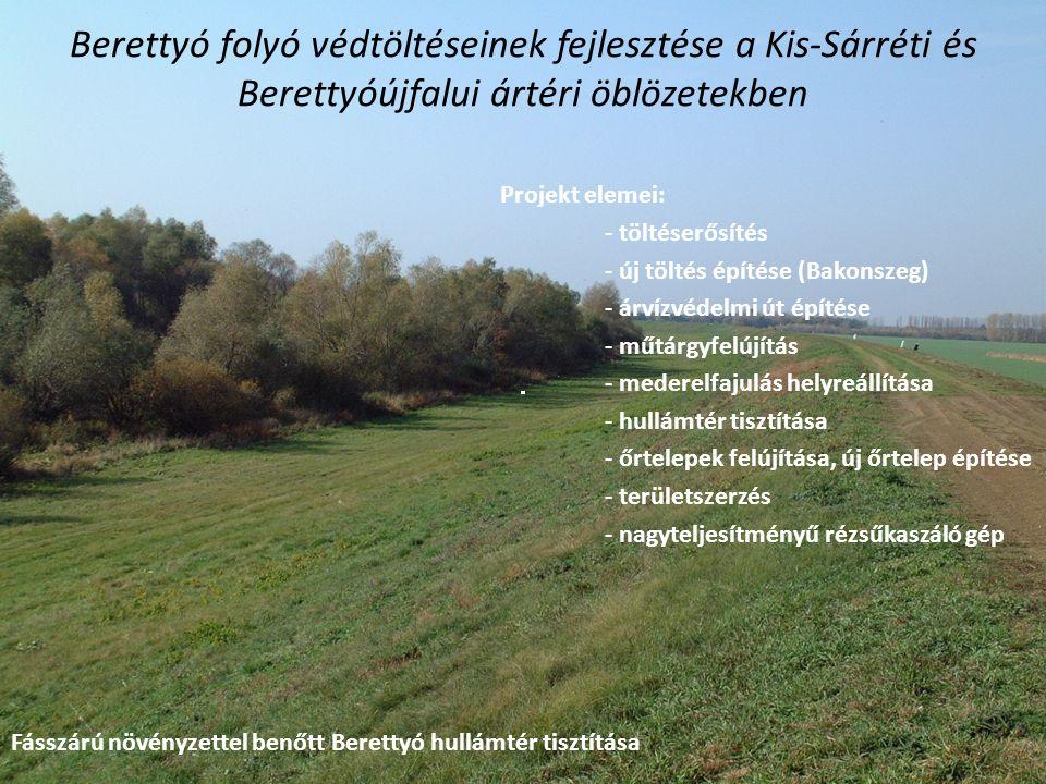 Berettyó folyó védtöltéseinek fejlesztése a Kis-Sárréti és Berettyóújfalui ártéri öblözetekben