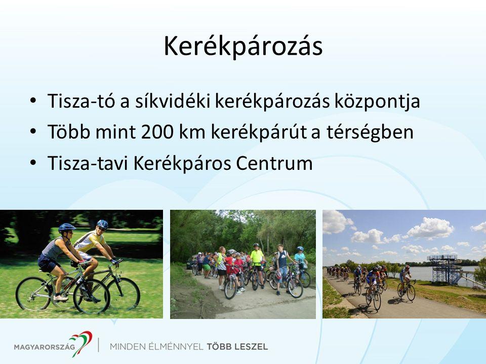 Kerékpározás Tisza-tó a síkvidéki kerékpározás központja