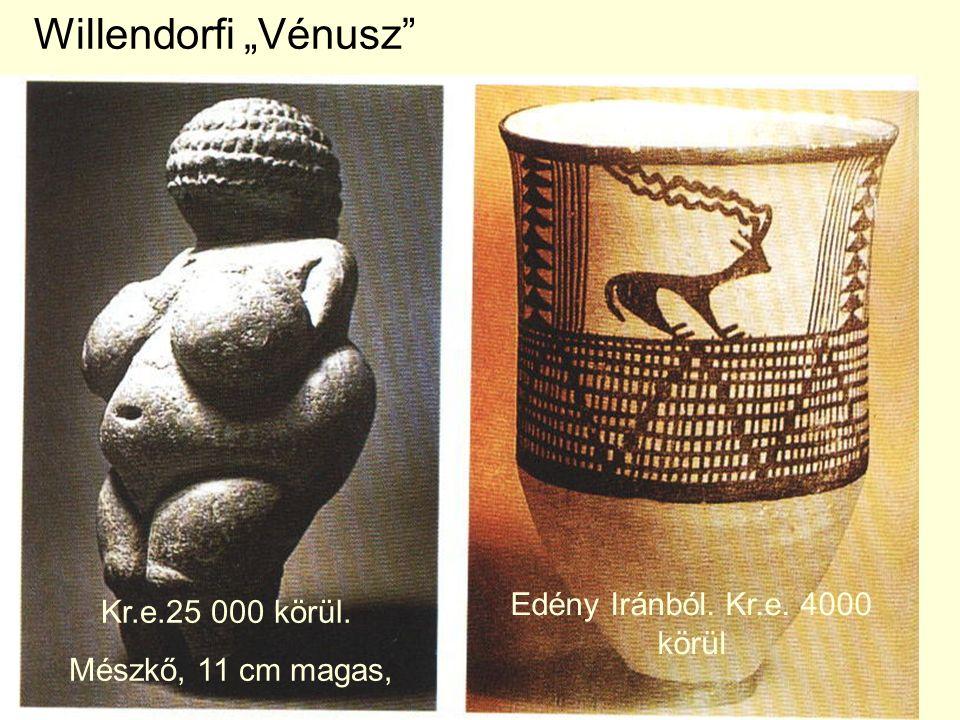 Edény Iránból. Kr.e. 4000 körül