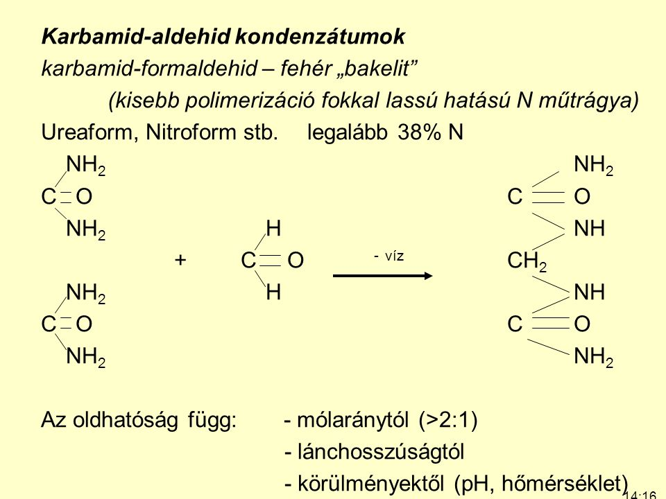 "Karbamid-aldehid kondenzátumok karbamid-formaldehid – fehér ""bakelit"