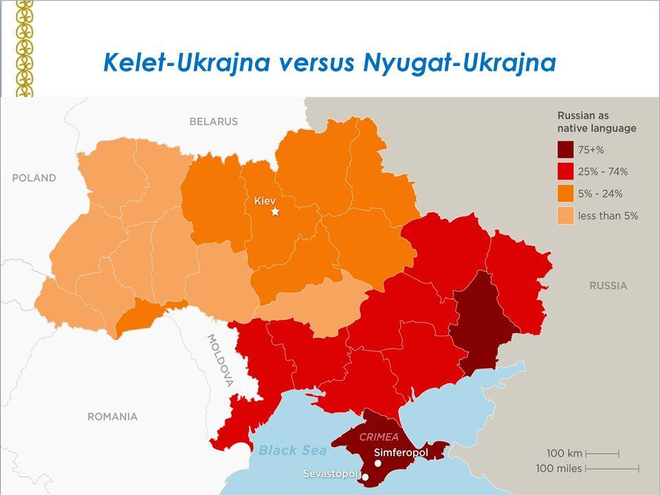 Kelet-Ukrajna versus Nyugat-Ukrajna