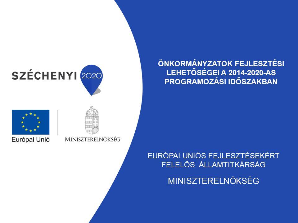Önkormányzatok fejlesztési lehetőségei a 2014-2020-as programozási időszakban