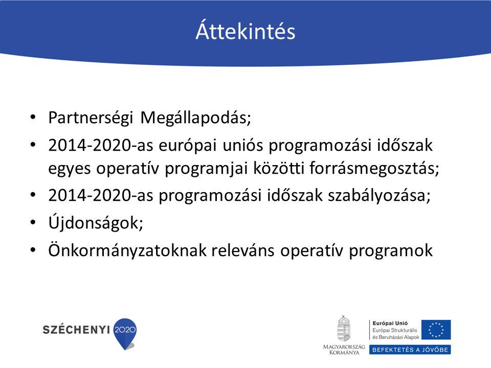Áttekintés Partnerségi Megállapodás;