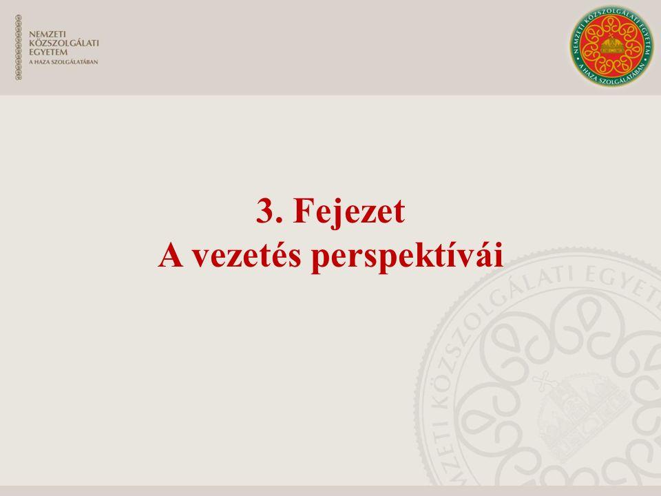 3. Fejezet A vezetés perspektívái