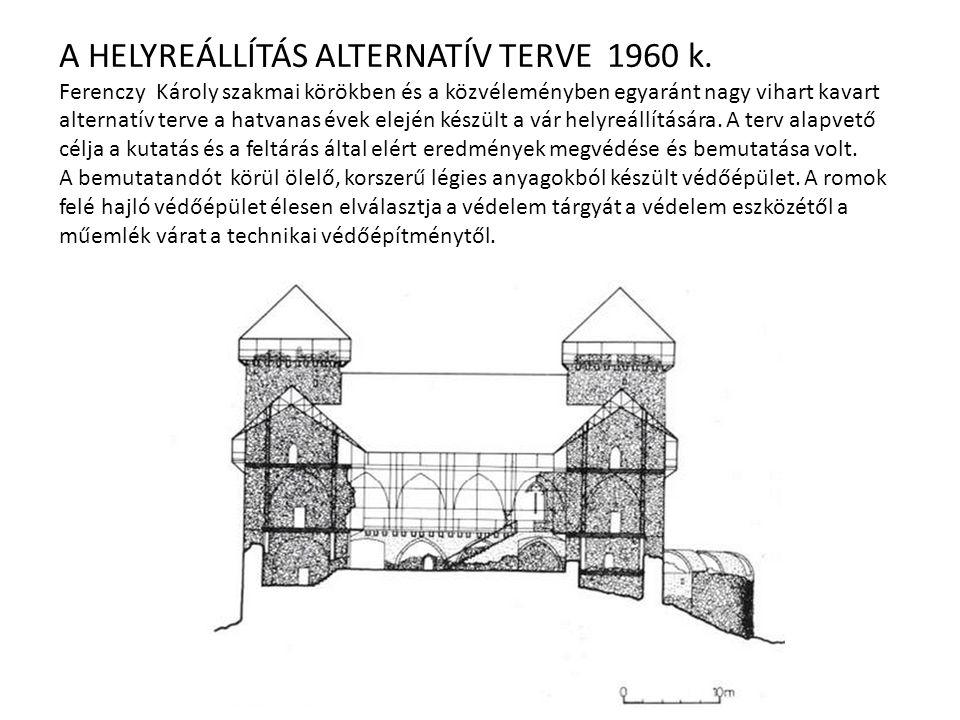 A HELYREÁLLÍTÁS ALTERNATÍV TERVE 1960 k