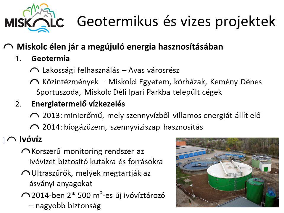 Geotermikus és vizes projektek