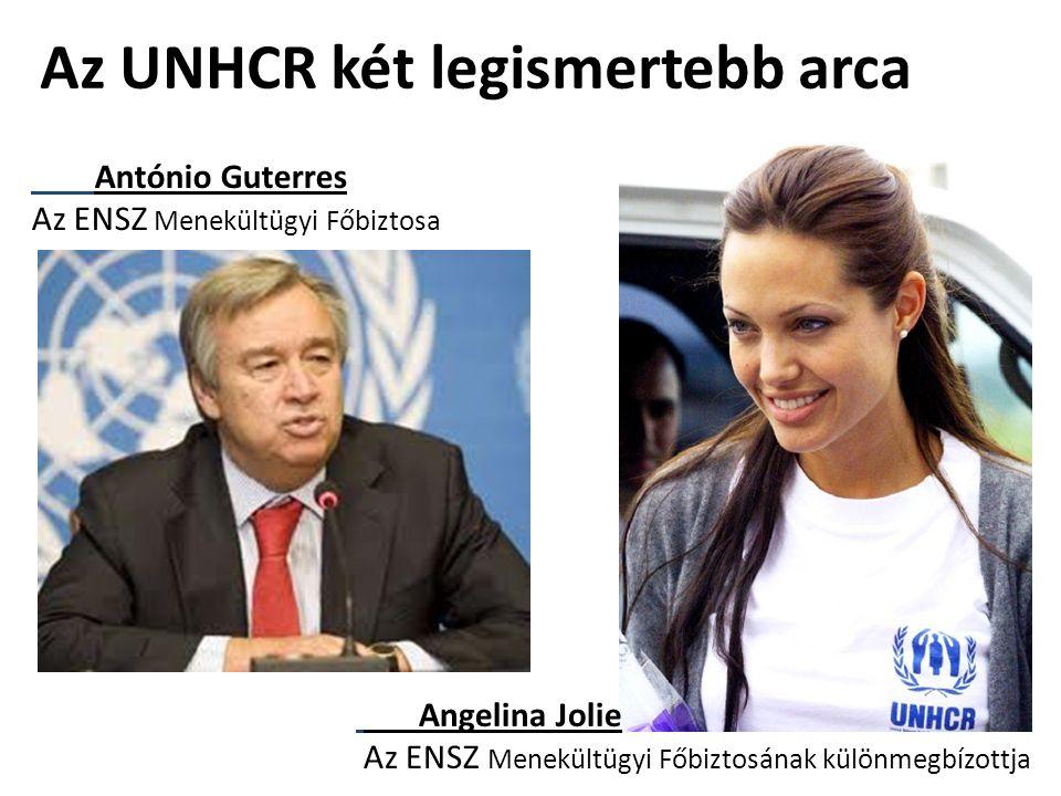Az UNHCR két legismertebb arca